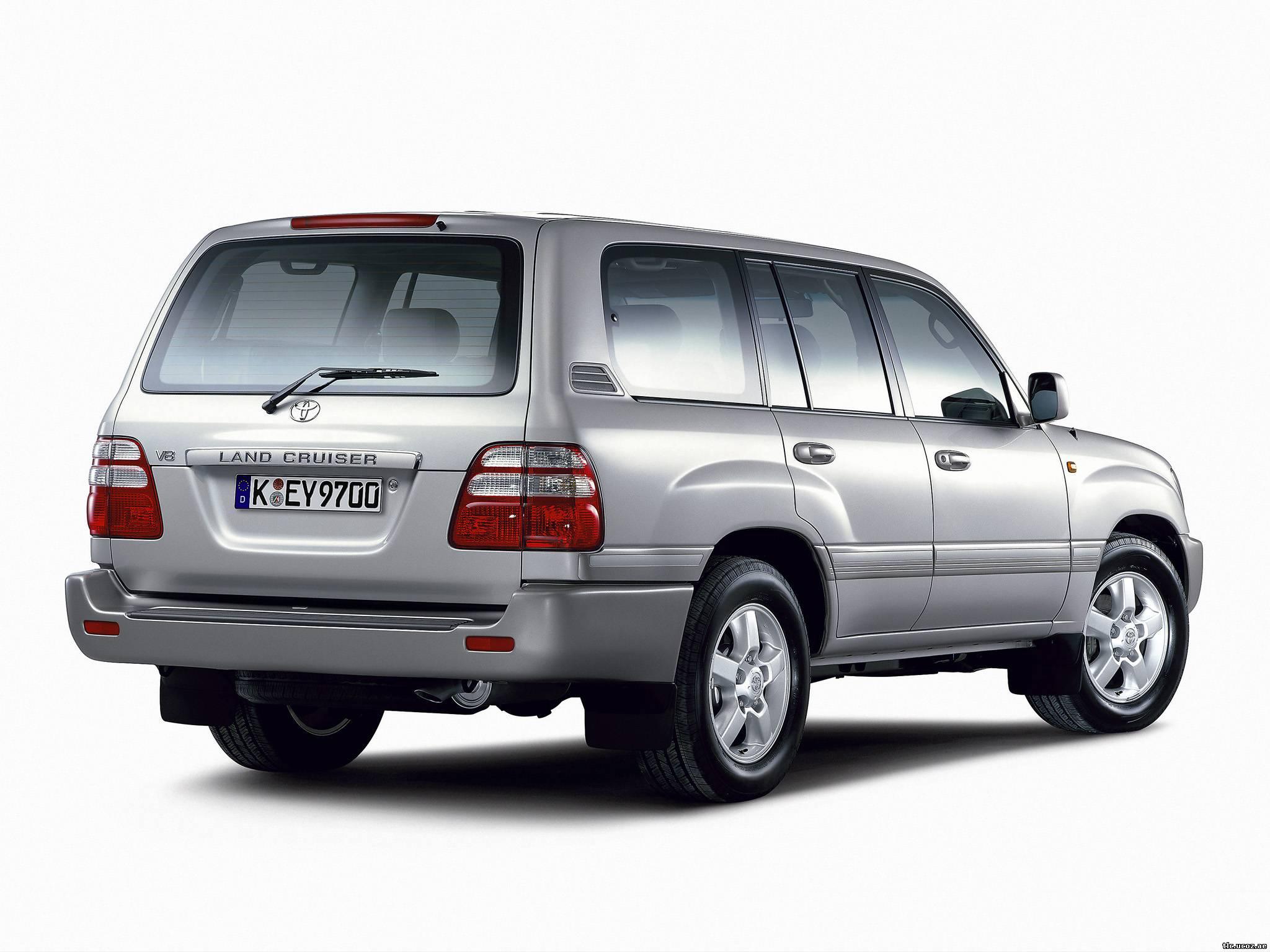 Технические характеристики Toyota Land Cruiser 100.