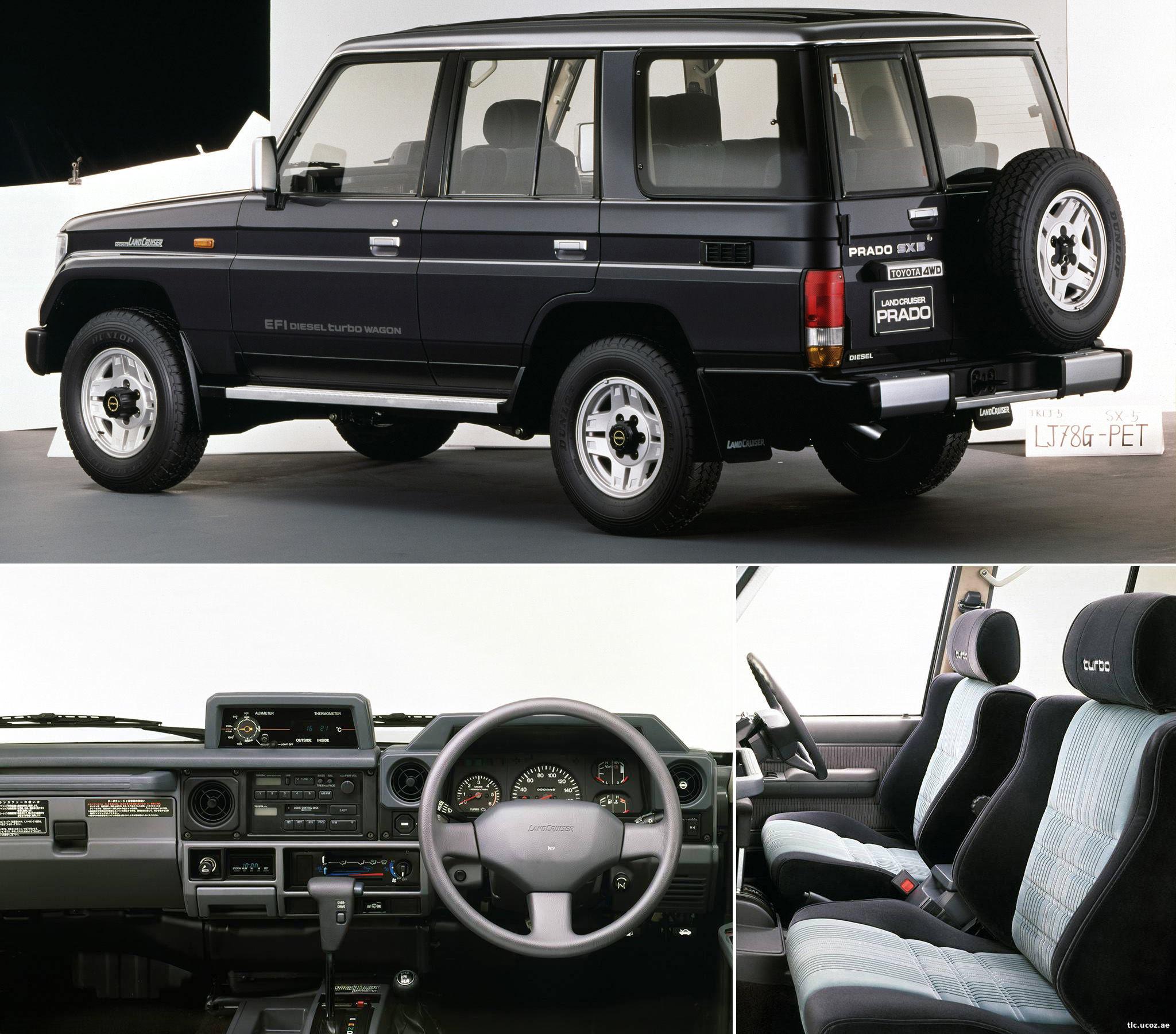 Купить Toyota Land cruiser б/у в Красноярске: цены, фото ...